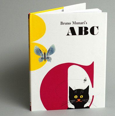 ABC AUTHOR AND ILLUSTRATOR Bruno Munari PUBLISHER Chronicle Books.