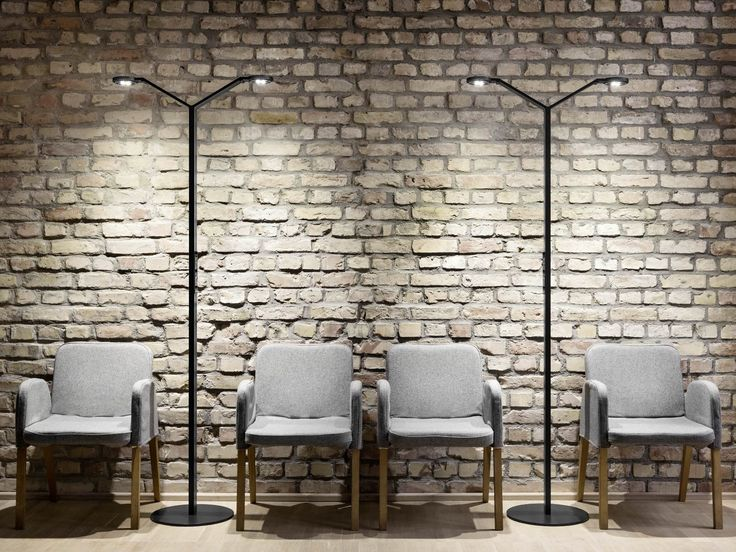 LED floor lamp RADIAL FLOOR TWIN by LUCTRA®