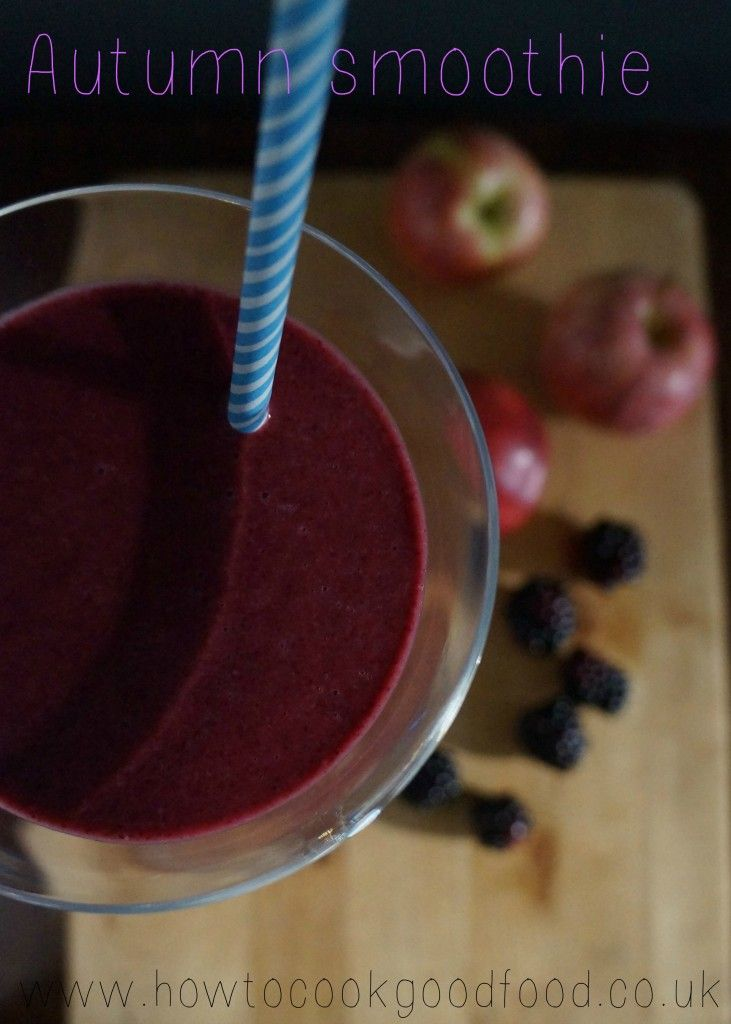 Autumn Breakfast Smoothie from @laura_howtocook How To Cook Good Food #FourSeasonsFood #GettingFruity Sept 2014