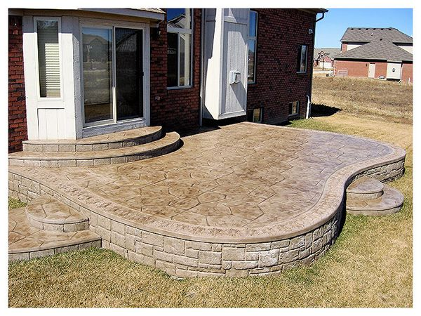 21 Ruggero Stamped Concrete Patios Macomb Mi Back Yard