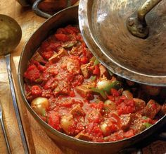 Hungarian Beef Goulash is another delicious one-pot offering with the trinity of onions, tomatoes, green peppers and, of course, paprika.