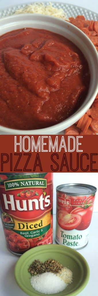 Don't ever buy the jarred pizza sauce again! This homemade pizza sauce is only 2 ingredients + spices, and it's no cook. Simply combine all…