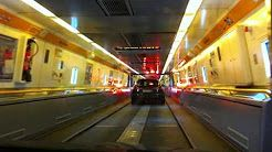 the channel tunnel train - YouTube