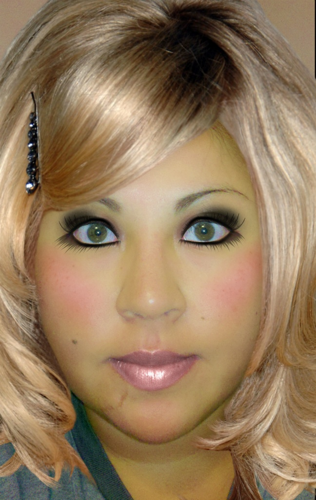 """""""wonderchick.me's Makeover"""" created using TAAZ Virtual"""