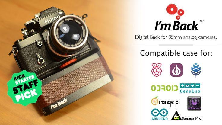 II'm Back - Advance - Digital Back for 35mm analog cameras