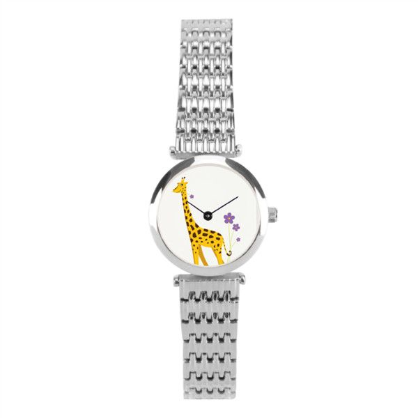 Cute Deer Women's Stainless Steel Wrist Watch Women's Stainless Steel... (12 KWD) ❤ liked on Polyvore featuring jewelry, watches, formal watches, silver jewellery, stainless steel wrist watch, stainless steel digital watches and stainless steel watches