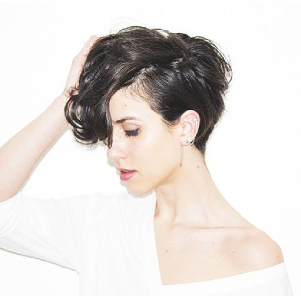 This style is awesome. May I borrow your hair, madam? http://niffler-elm.tumblr.com/post/157400464326/2014-bridesmaid-hairstyles-for-short-hair-short