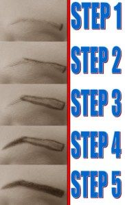Please click for the complete eyebrow tutorial at: http://makeupwisdom.wordpress.com/2013/09/11/tutorial-eyebrows/ #browtutorial #eyebrows