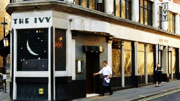 Very British: The Ivy in London