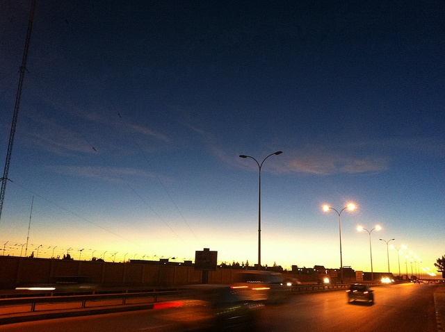 mix of colors and emotions   Benghazi Highway