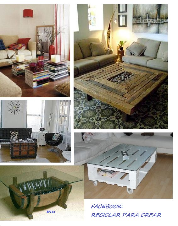muebles reciclados  ideas  Pinterest