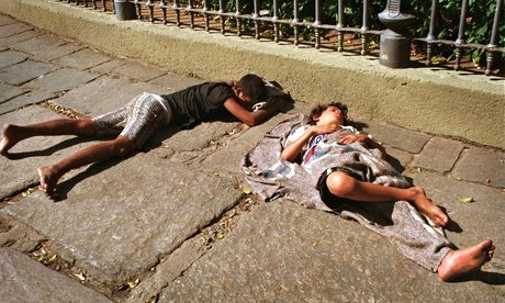 Charity fights for the rights of street children in Brazil