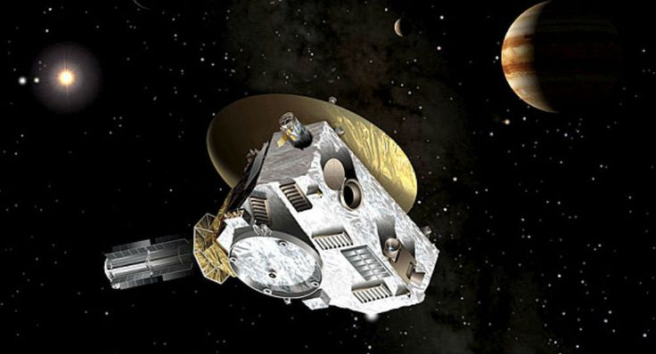Halfway There! New Horizons Reaches Midpoint of Journey to Distant Asteroid NASA's New Horizons probe has reached the halfway point on its journey from Pluto to the Kuiper Belt Object (KBO) 2014 MU69. Since New Horizons made its closest approach to Pluto in July 2015, it has traveled 486.19 million miles – half the distance to 2014 MU69 – as of 8:00 p.m. EST on April 2.