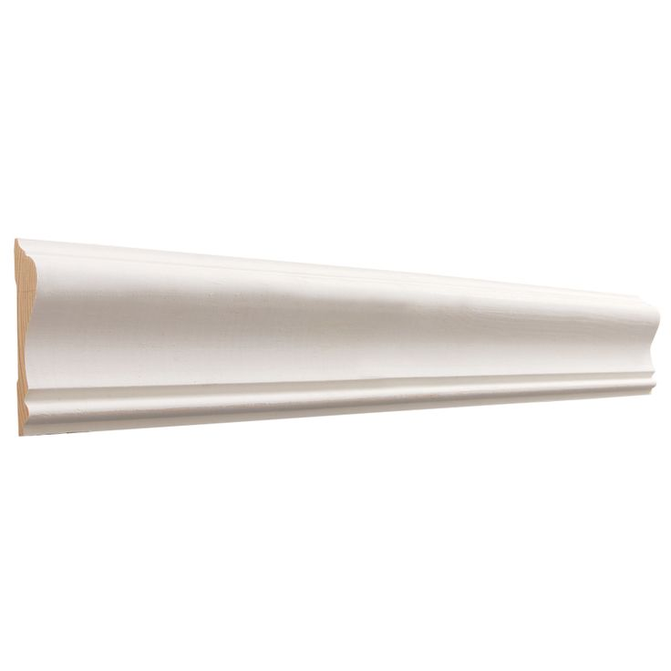 258in x 12ft primed mdf chair rail moulding