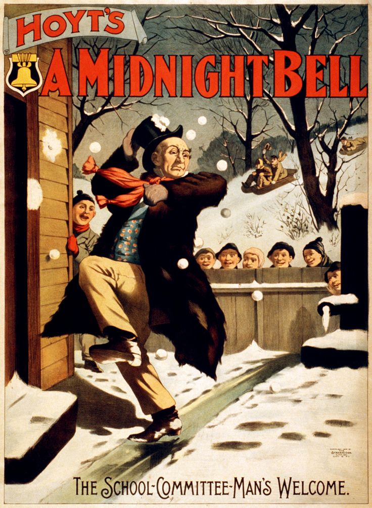 Hoyt's A midnight bell, performing arts poster, 1896