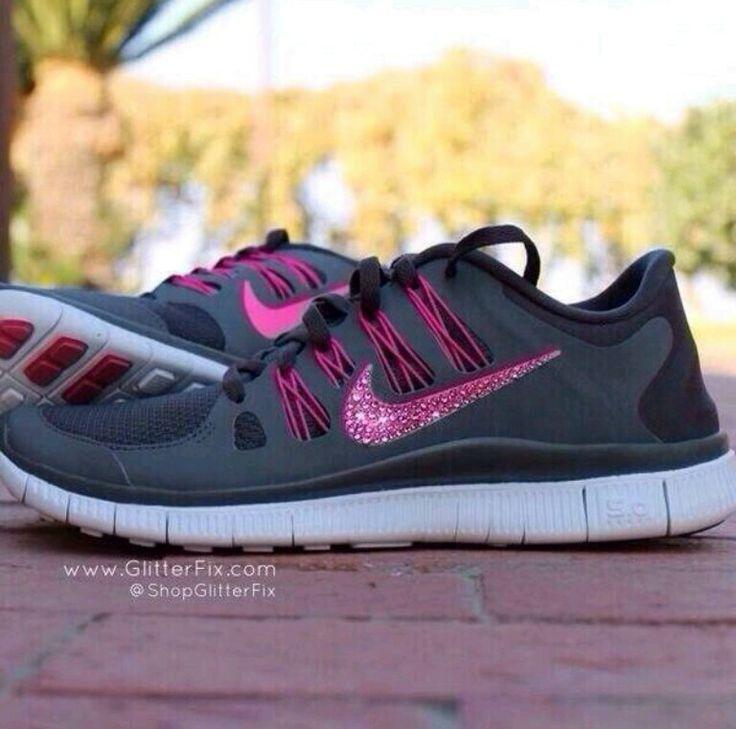 Nike Free Run Papier Peint Violet 5,0 Léopard