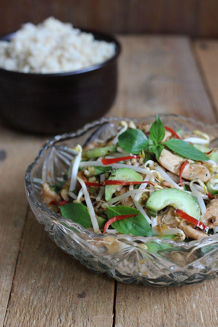 Chicken Vietnam style with lemongrass