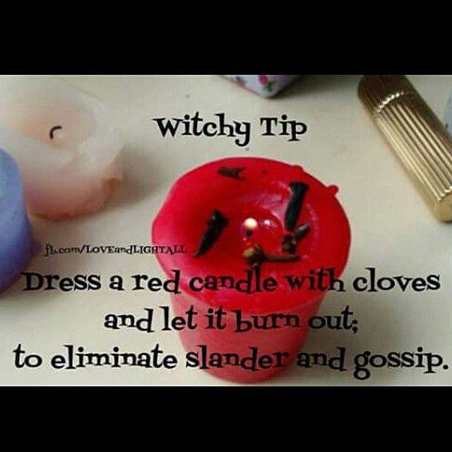Witchy Tip to eliminate slander and gossip.