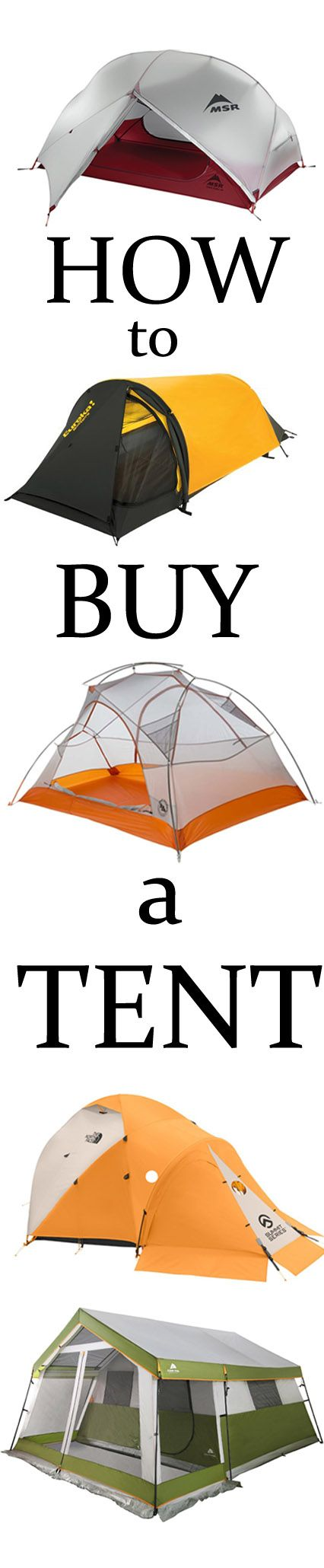 This 15 minute guide will tell you everything you need to know about how to buy a tent for camping or backpacking, whether you lightweight backpack solo or go car camping with the family.