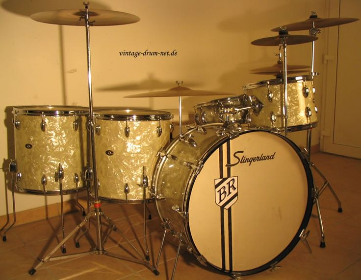 1970's Buddy Rich Vintage Slingerland drum kit