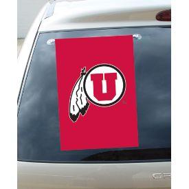 Utah Utes Window Flag