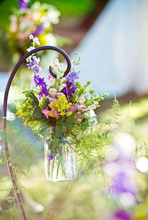 47 Relaxed Wildflower Wedding Ideas   HappyWedd.com