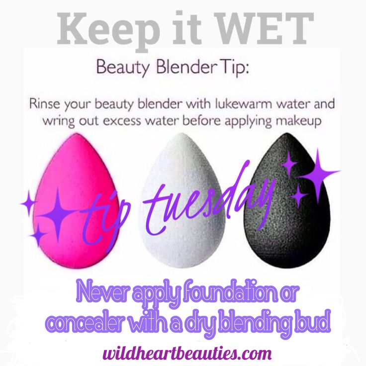 Tip Tuesday Blending Buds keep wet Younique younique.chelseaj@gmail.com www.youniqueproducts.com/chelseajenkins