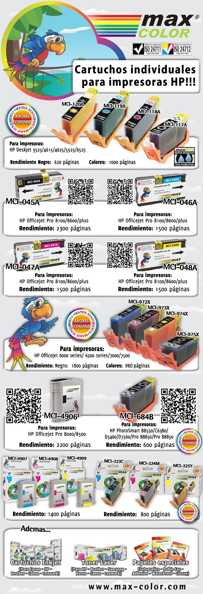 MCI-117A MCI118A MCI-119A MCI-120A MCI-972A MCI-973A MCI-974A MCI-975A MCI-4907 MCI-4908 MCI-4909 MCI-045A MCI-046A MCI-047A MCI-048A MCI-684B MCI-323C MCI-324M MCI-325Y