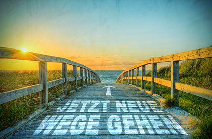 Jetzt neue Wege gehen! © Marco2811