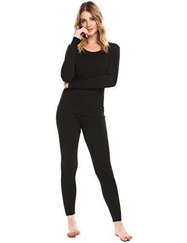 Langle Women Long Sleeve Pajamas Thermal Base Layer Underwear Set Lightweight Cotton Nighty S-XXL Collar: O-Neck Sleeve: Long Sleeve Top Length: Regular Bottom Waist: Elastic Waist Bottom Length: Full Length Pattern: Solid Closure Type: Pullover Occasion: Sleep or Lounge Season: Spring, Autumn,... http://darrenblogs.com/us/2018/01/21/langle-women-long-sleeve-pajamas-thermal-base-layer-underwear-set-lightweight-cotton-nighty-s-xxl/