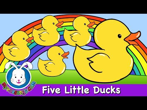 Five Little Ducks - Nursery Rhymes by MyVoxSongs - YouTube