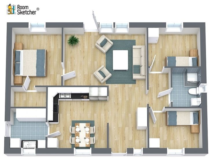 RoomSketcher 3D Floor Plans – Ready-Made for you within 24