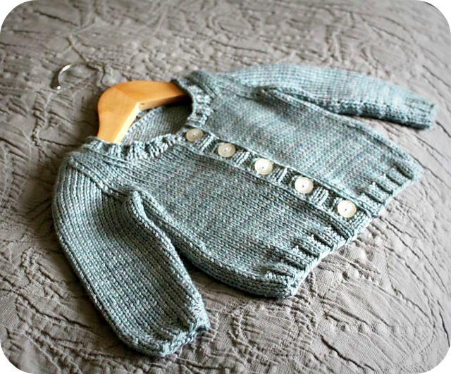 Ravelry: nevernotknitting's Basic Baby Cardigan