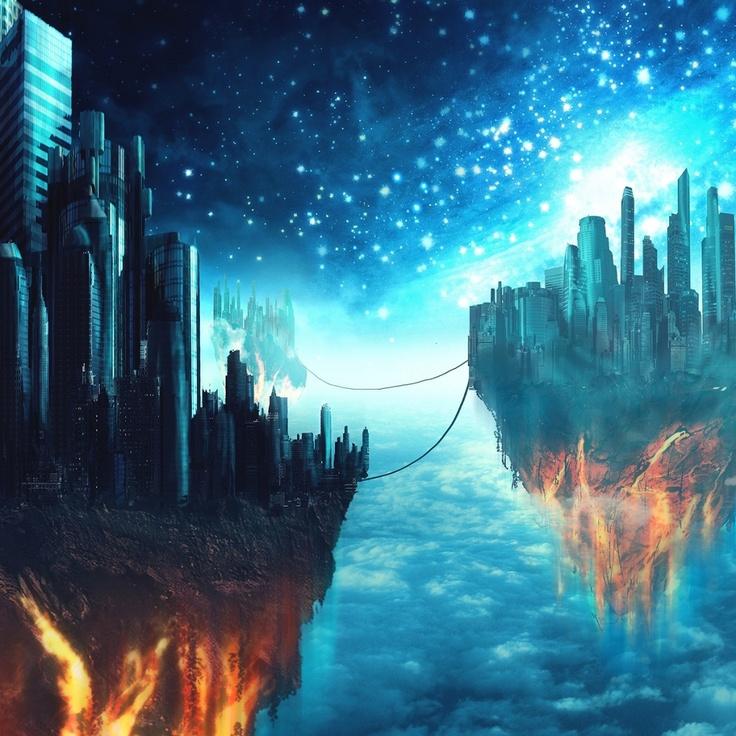 Fantasy Landscape Wallpaper: 13 Best Futuristic Cities Images On Pinterest