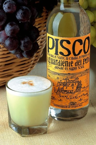 Pisco for Pisco Sour