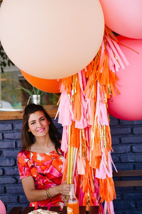 Geronimo Balloon Lollies! Love love love the fringe, I must learn how to do this!!!