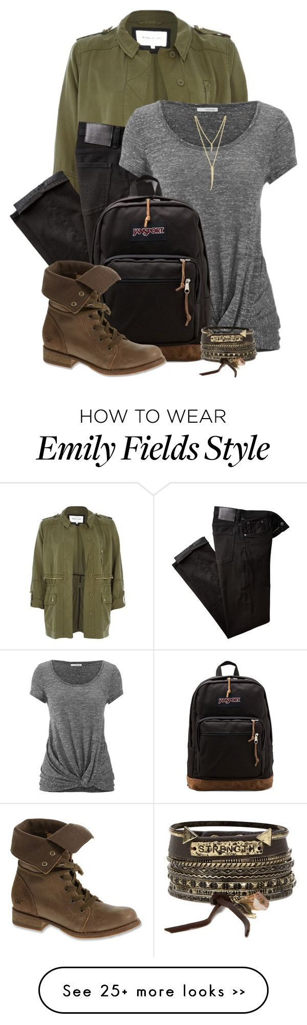 """emily fields"" by alexa-girl2 on Polyvore"