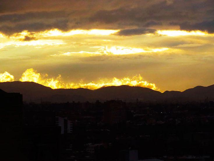 Atardeceres en Bogotá