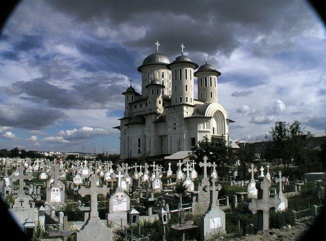 church in bacau, romania. wow