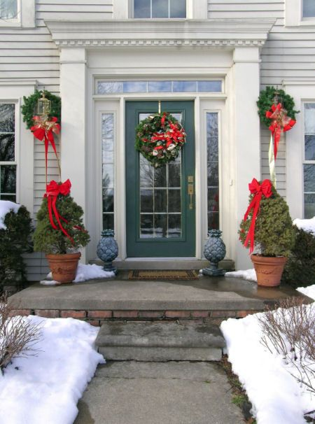 37 Best Porch Pots Amp Holiday Decorating Images On