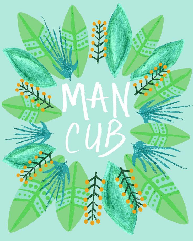 Man Cub 8x10 Print Jungle Book Nursery Art by AnchorAndSpruce on Etsy