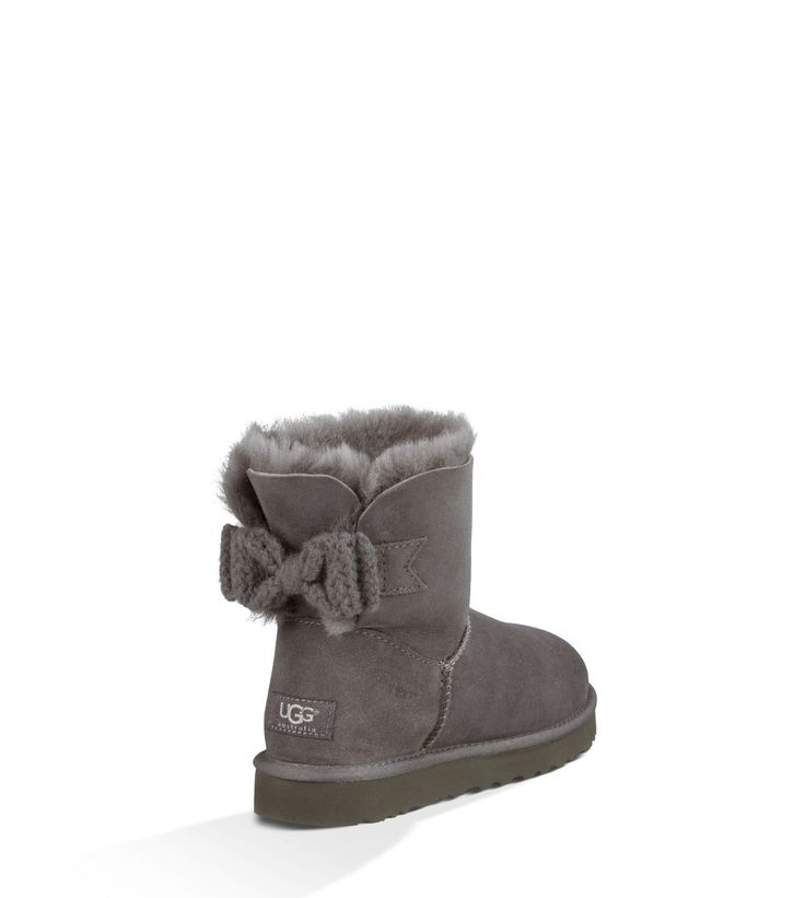 UGG Official | Women's Mini Bailey Knit Bow Footwear | UGGAustralia.com