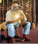 Preto velho, a alma da Umbanda -  ilustrador desconhecido / não identificado