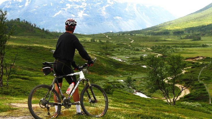 Fem flotte fjellturer på to hjul