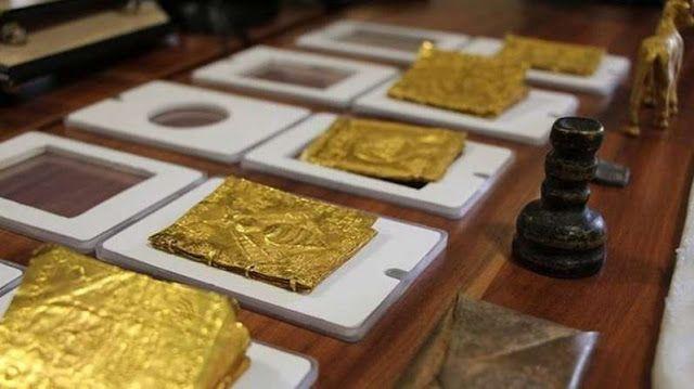 Πυρφόρος Έλλην: Βρέθηκε η θρυλική σφραγίδα του αρχαίου βασιλιά Σολ...