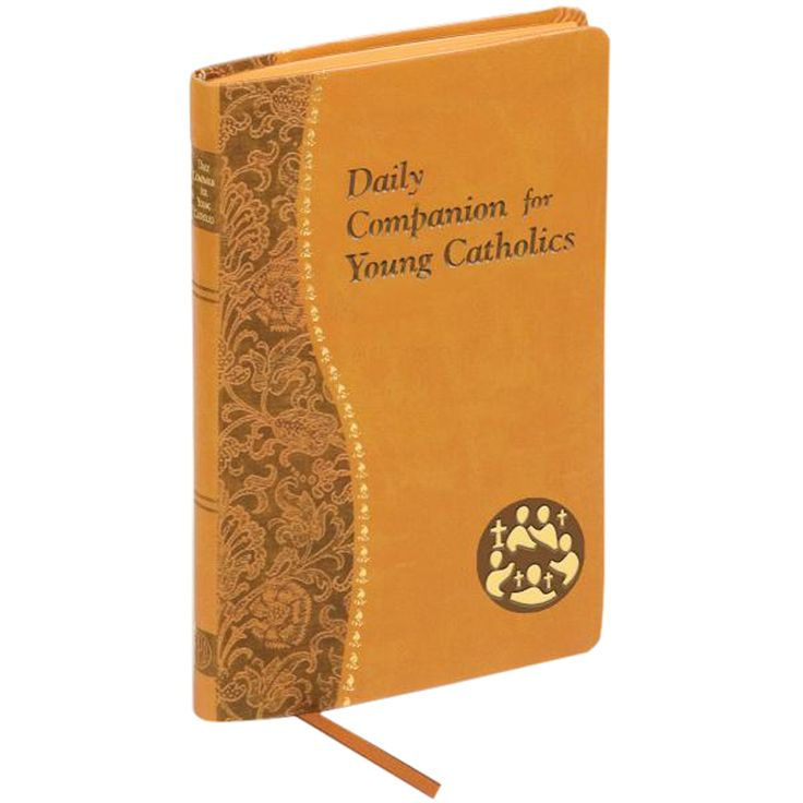 This leatherette Catholic prayer book for teens features daily readings to enrich their walk with God. Ribbon marker, 192 pages.