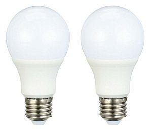 AmazonBasics Lot de 2 ampoules LED E27 9,5W à 60W