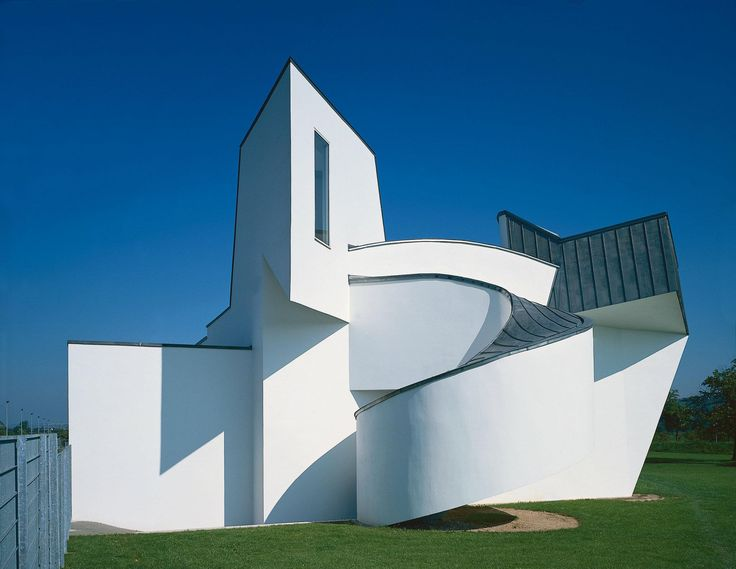 "Frank gehry ""Vitra Design Museum"" Weil-am-Rhein Germany 1990"