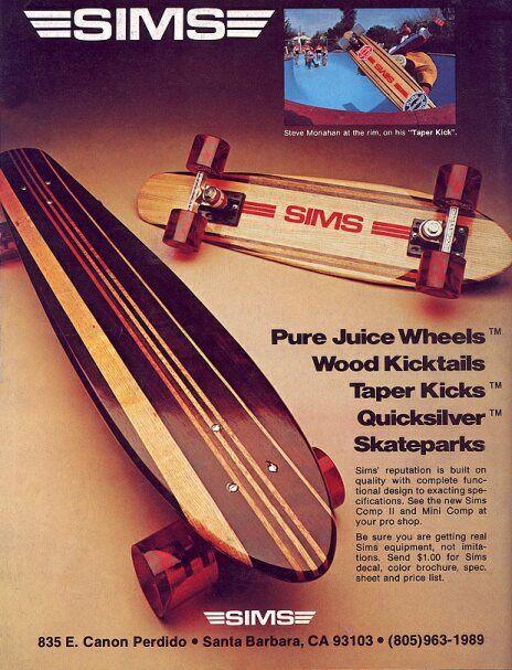 Vintage Skateboard Ad