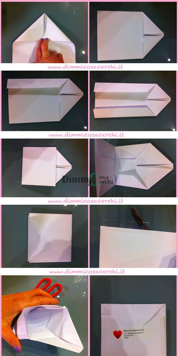 Oltre 1000 idee su modelli di busta da lettera su - Come fare un porta lettere ...